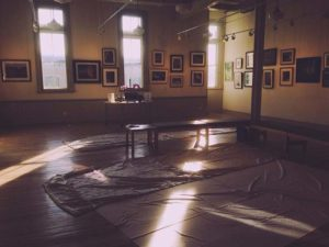 A Quiet Sunlit Gallery