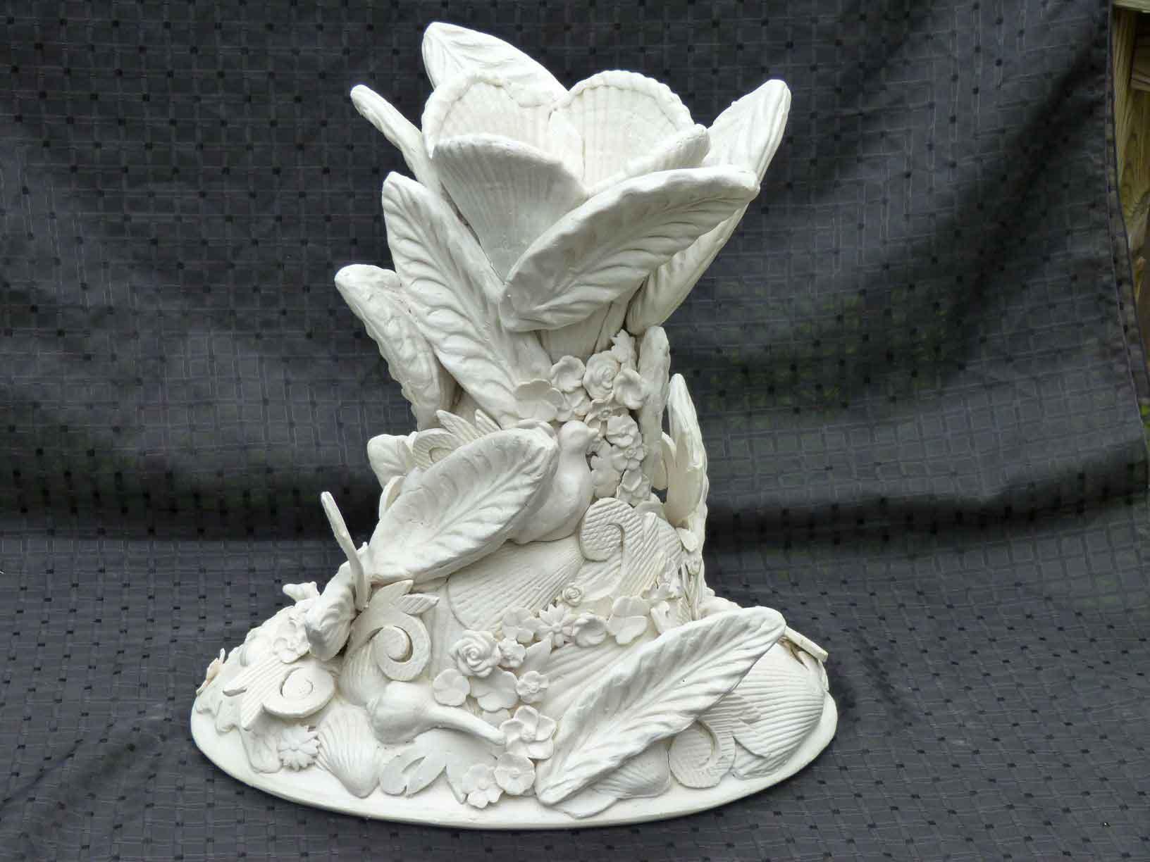Porcelain sculpture by Ann Cummings