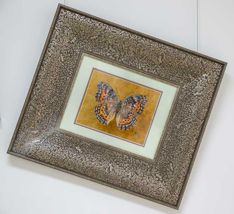 Mystic butterfly drawing by Grazyna Tonkiel