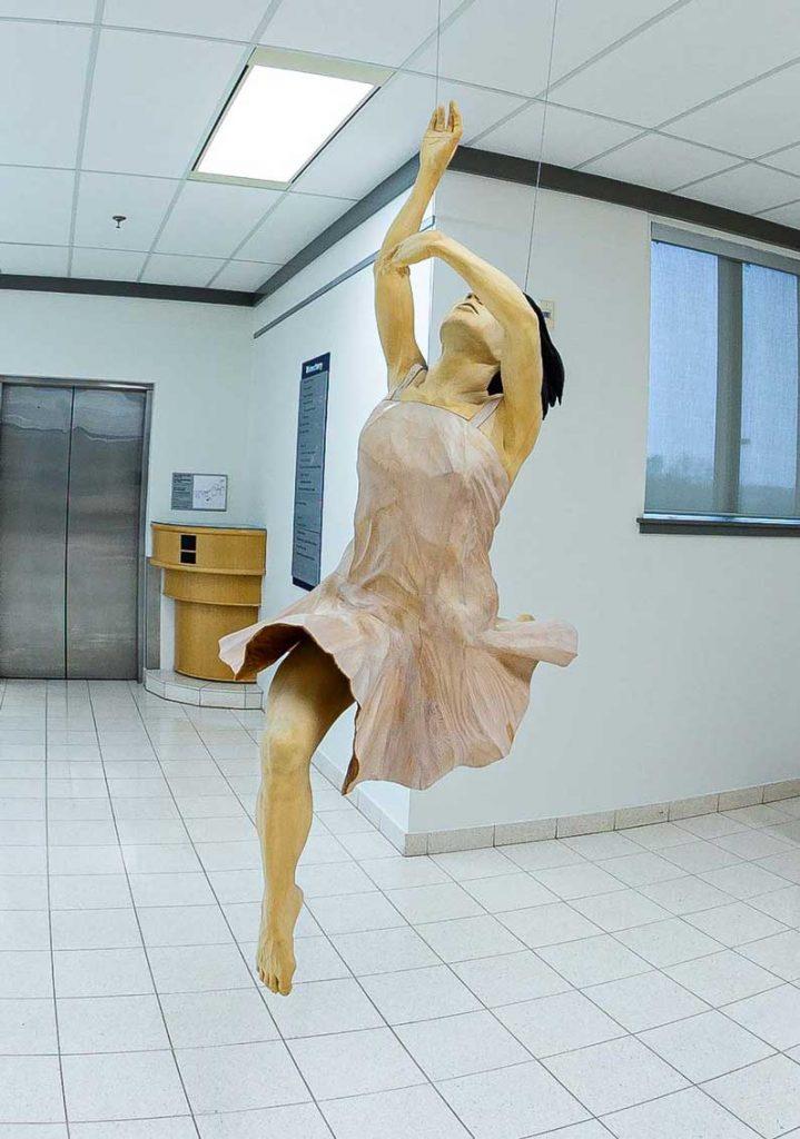 The Japanese Dancer Sculpture by Gordon Becker