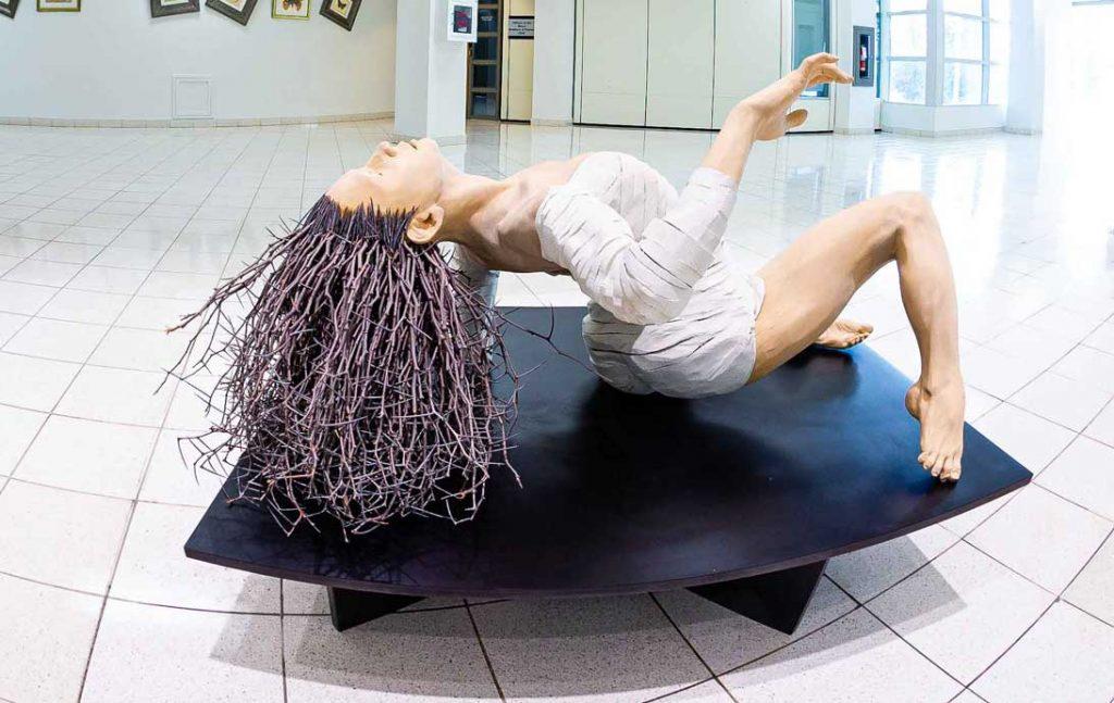 The White Dancer Sculpture by Gordon Becker