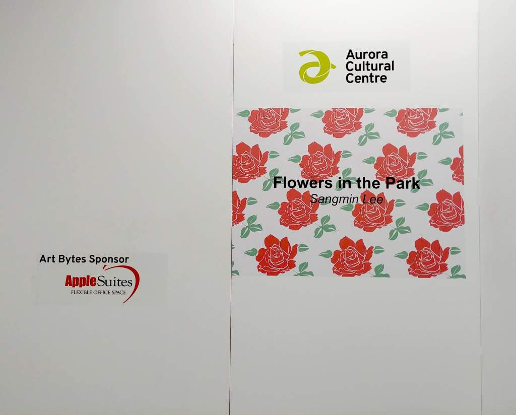 Flowers in the Park Vinyl Signage