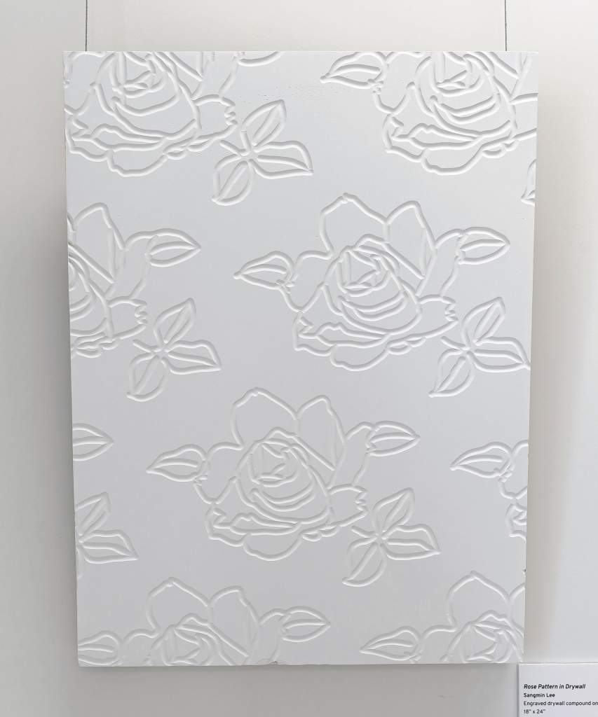Rose Pattern in Drywall Sangmin Lee